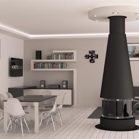 cheminée granulé